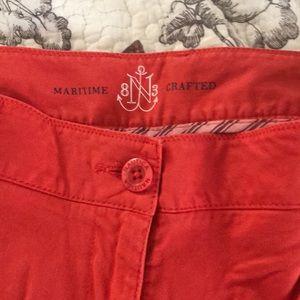 Nautica Shorts - Nautica orange Bermuda shorts